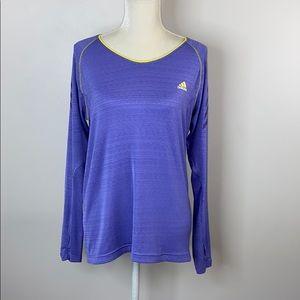 Adidas women's supernova long sleeve running tee L